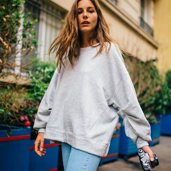 Free People We The Free Pleatin' Sleevin' Pullover