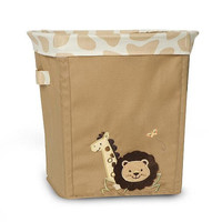 "Babies""R""Us Safari Collapsible Storage Nursery Basket"