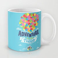 Adventure is out there Mug by Risa Rodil