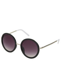 60'S Oval Sunglasses