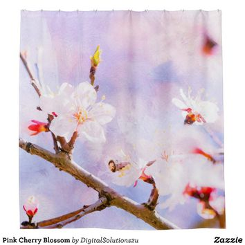 Shower Curtains cherry blossom shower curtains : Shop Cherry Blossom Shower Curtain on Wanelo