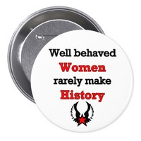 Feminism Making History, Button