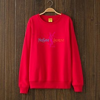 YSL Woman Men Top Sweater Pullover