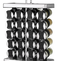 Martha Stewart Collection 21-Piece Space Saver Spice Rack Set, Created for Macy's, | macys.com