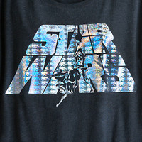 Star Wars Foil Logo Tee for Women by Mighty Fine