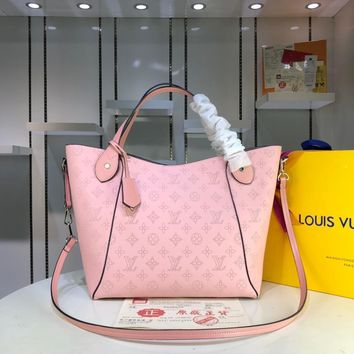 DCCK 1587 Louis Vuitton LV Double design Hina Mahina Big Handbag Pink