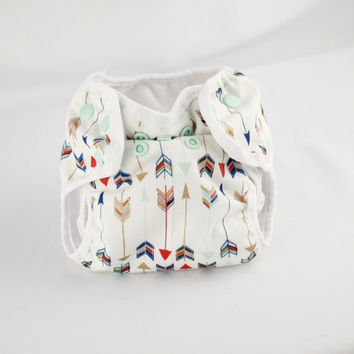 Arrow Newborn Cloth Diaper with umbilical cord snap
