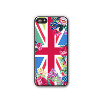 Geometric Phone Case - Floral Union Jack Phone Cover