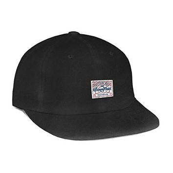 Benny Gold Mens Anti-Work Washed Polo Hat/Cap One Size Black