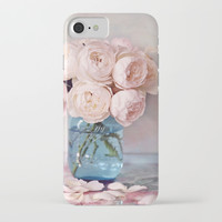 English Roses iPhone Case by sylviacookphotography