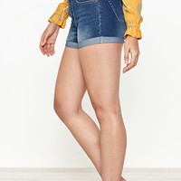 PacSun Booty Blue Push Up Denim Shorts at PacSun.com
