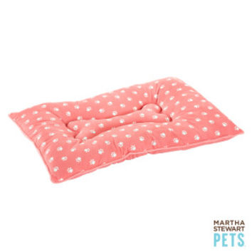 Martha Stewart Pets® Paw Print Pillow Dog Bed