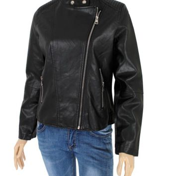Women's FauxLeather Jacket