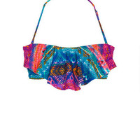 Jessica Simpson Flounce bandeau & Jessica Simpson Rouched hipster