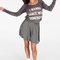 DANCE WITH SOMEBODY COZY RAGLAN