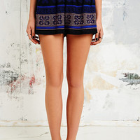 Staring at Stars Embroidered Shorts in Black - Urban Outfitters