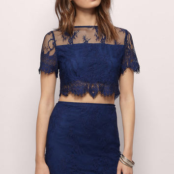 Venezia Lace Bodycon Set