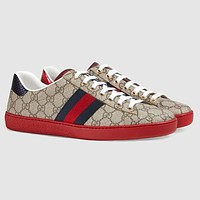 Gucci Trending Woman Men Stylish Casual Sneakers Sport Shoes I/A