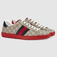 "Hot Sale ""Gucci"" Fashion Woman Men Casual Sneakers Sport Shoes I/A"