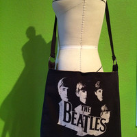 The Beatles Purse Upcycled Shoulder Bag