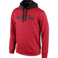 Nike Youth Ohio State Buckeyes Scarlet KO Performance Hoodie