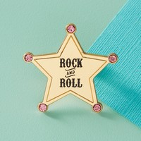 Rock & Roll Enamel Pin
