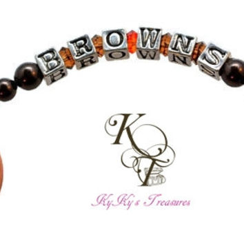 Cleveland Browns, Browns Accessories, Browns Keychain, Keychains, Football, Football Gift, NFL Gift, NFL Accessories, Browns, Birthday Gift