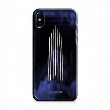 Born Sinner iPhone X Case