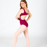 Free Shipping - Cut Out Tank Leotard by BAL TOGS
