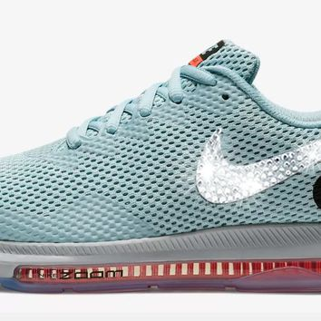 Nike Zoom All Out Low 2 + Swarovski Crystals - Ocean Bliss