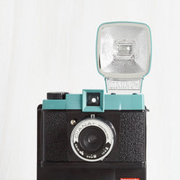 Vintage Inspired Diana F Instant Camera in Nightfall by ModCloth