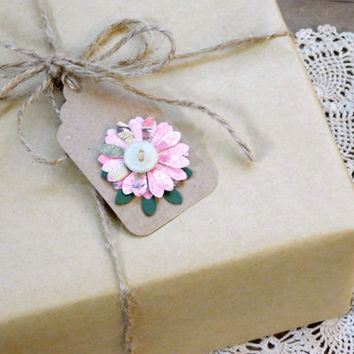 Rustic All Occasion Gift Tags, Set of 12