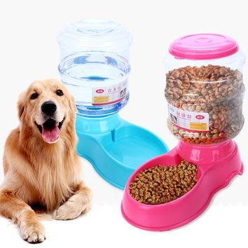 Pet Supplies Cats And Dogs Feeding Pet Food Barrels ABS Resin Plastic Water Dispenser