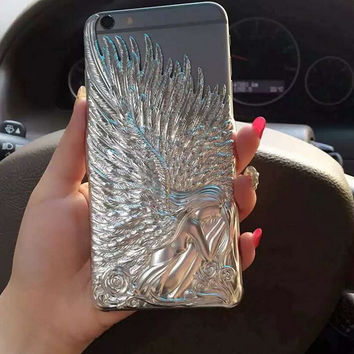 Angel Wings iPhone 5s 6 6s Plus creative case Gift-104