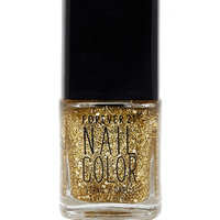FOREVER 21 Gold Goddess Nail Polish Gold/Crystal One