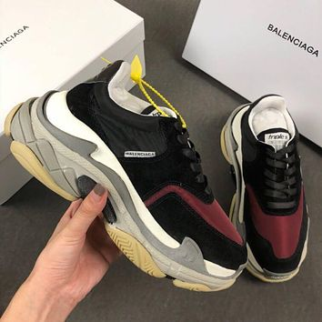 Balenciaga Triple-S Xia Gu jogging shoes-4