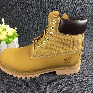 DCCKBE6 Timberland Rhubarb Boots Wheat color 2018 Waterproof Martin Boots