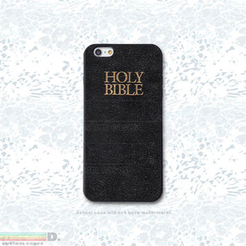 The Bible, Custom Phone Case for iPhone 4/4s, 5/5s, 6, 6+, iPod Touch 5,