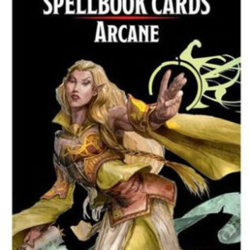 Dungeons & Dragons Spellbook Cards Arc