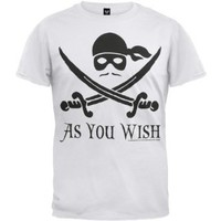Amazon.com: Princess Bride - As You Wish T-Shirt: Clothing