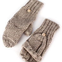 Fingerless Mitten Flap Gloves
