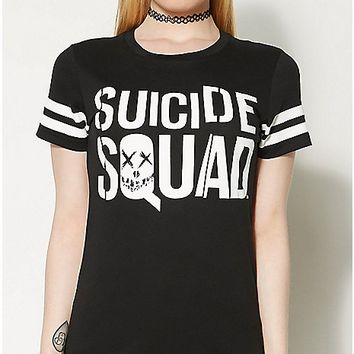 Movie Suicide Squad T shirt - Spencer's