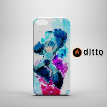 DIGITAL MEGAMAN Design Custom Case by ditto! for iPhone 6 6 Plus iPhone 5 5s 5c iPhone 4 4s Samsung Galaxy s3 s4 & s5 and Note 2 3 4