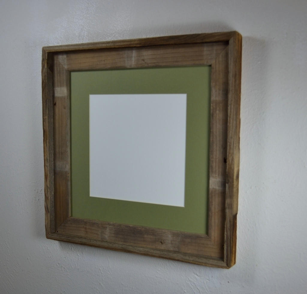 Square picture frame frame for 12x12 or from barnwood4u