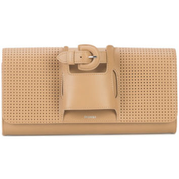 Perrin Paris Perforated Glove Clutch Bag - Farfetch