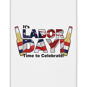 "Labor Day - Celebrate Fridge Magnet 2""x3"" Portrait"