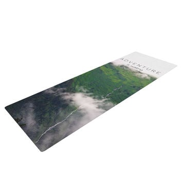 "Ann Barnes ""Adventure is Waiting"" Mountain Yoga Mat"