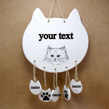 Cat Wall Decor best ceramic wall cat products on wanelo