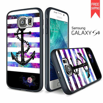 Anchor Pierce The Veil Band In Galaxy Samsung Galaxy S6 Case