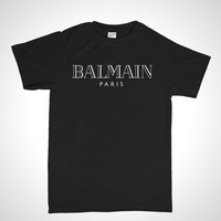 Balmain Paris T shirt  - Unisex Short Sleeve T-Shirt